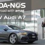 New Audi A7 with MR.DA-NOS